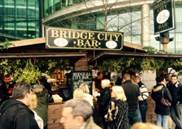 Christmas Market Bridge City Bar