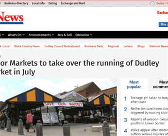 Dudley News on Tudor Markets new Management