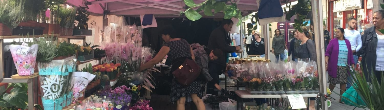 Trade in London - Hounslow Market