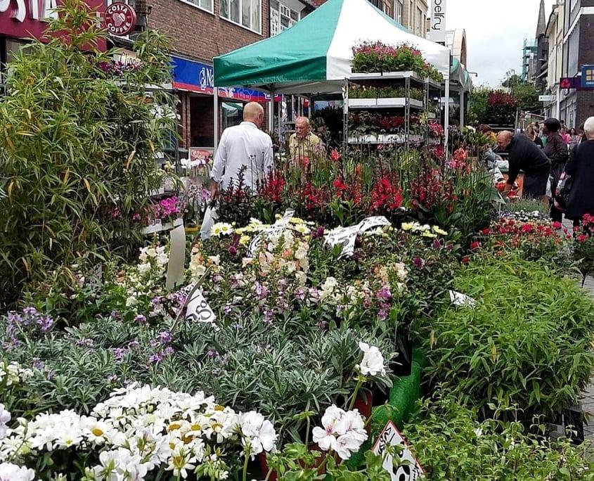 Trade in Surrey - Redhill Market