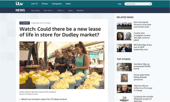 ITV Article Screengrab