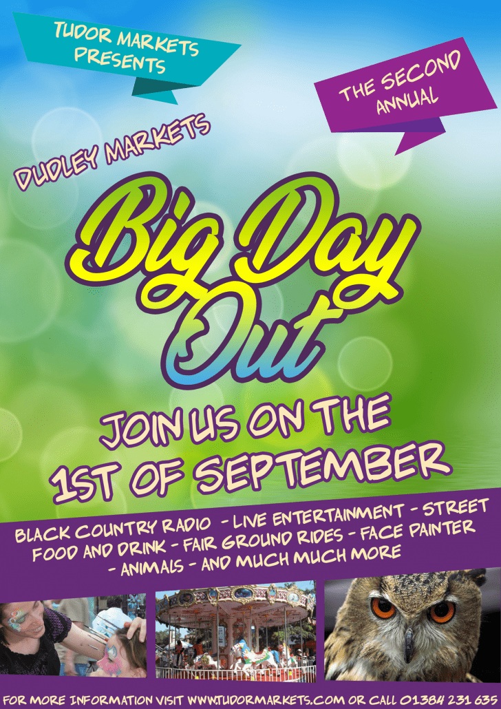 Dudley Market's Big Day Out 2018