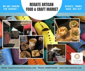 Reopening Of Reigate Artisan Food Craft Market Tudor Markets